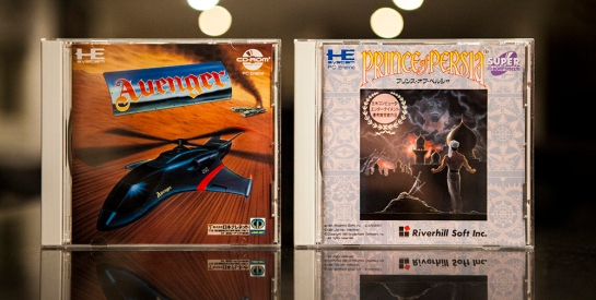 PC Engine Avenger and Prince of Persia