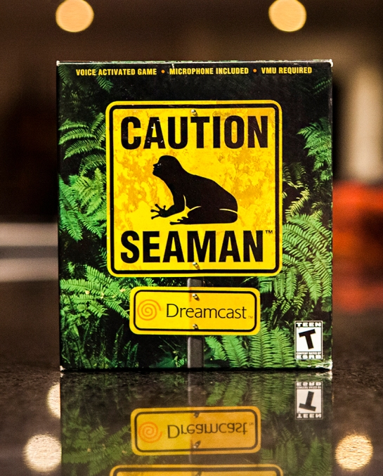 Sega Dreamcast Caution Seaman