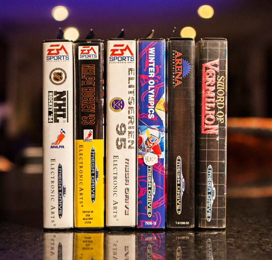 Sega Mega Drive Games NHL etc