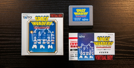 Space Invaders Virtual Boy Complete