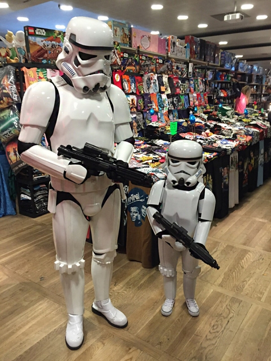 Star Wars cosplay - storm trooper