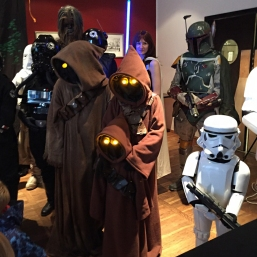 Star Wars cosplay - jawas