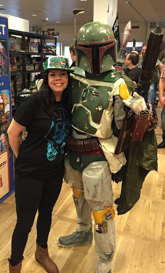 Bobba Fett cosplay - star wars