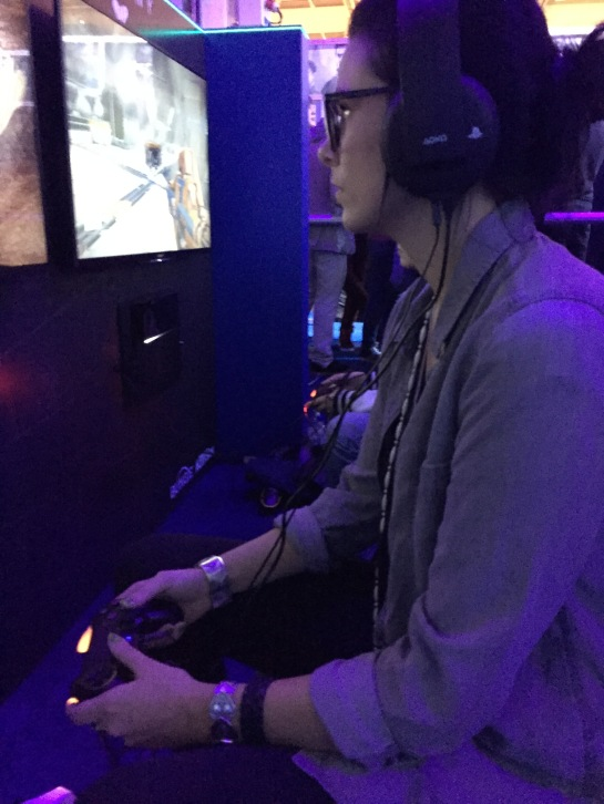stopXwhispering gaming at Gamex/Comic Con 2014