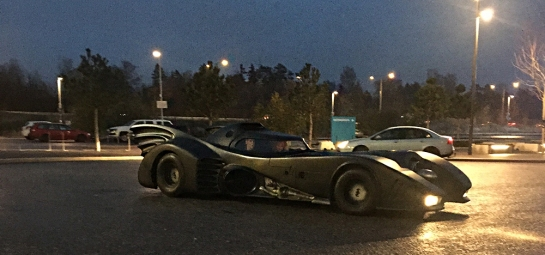 batmobile at Gamex/Comic Con 2014