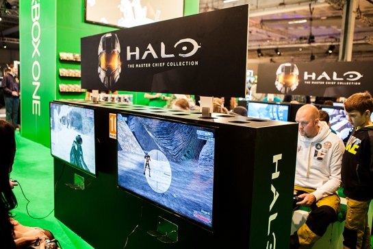 Halo Master Chief collection at Gamex/Comic Con 2014