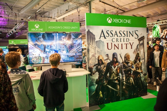 Assassins Creed Unity at Gamex/Comic Con 2014