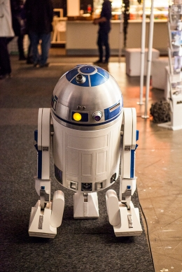 R2D2 at Gamex/Comic Con 2014
