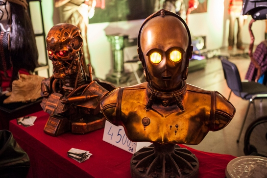 C3PO at GAMEX/Comic Con 2014