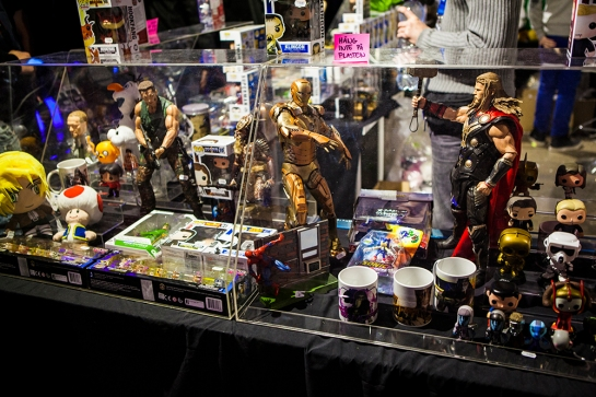Action Figures at GAMEX/Comic Con 2014