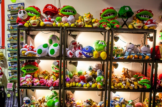 Nintendo plushies at GAMEX/Comic Con 2014