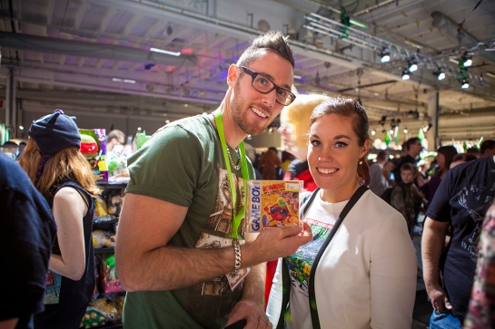 GamingGrannar at GAMEX/Comic Con 2014