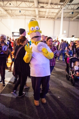 Homer Simpson cosplay