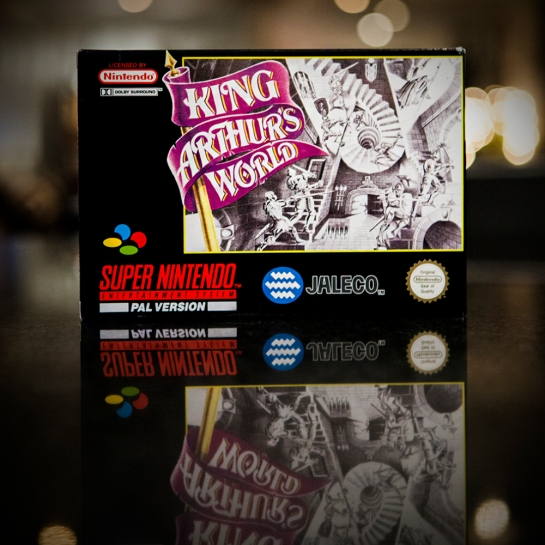SNES King Arthur's World