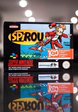 Spirou for SNES