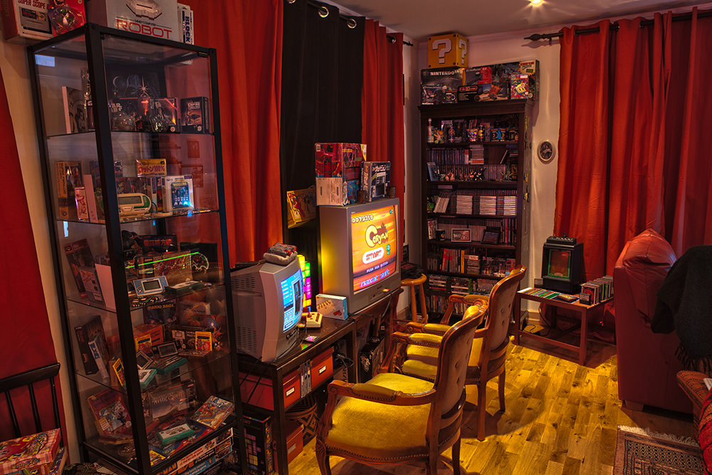 Gaming room | Retro Video Gaming