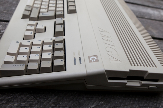 Amiga 500 detail