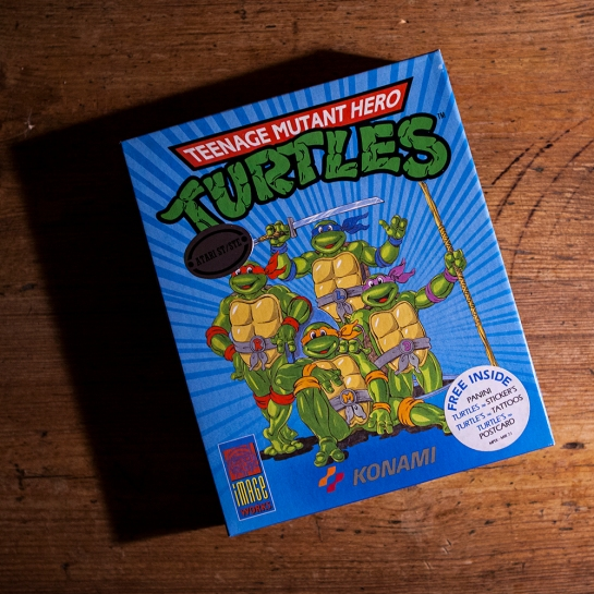 Amiga 500 - Teenage Mutant Hero Turtles