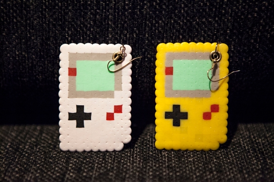 Game Boy earrings
