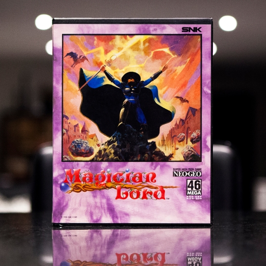 Neo Geo Game - Magician Lord