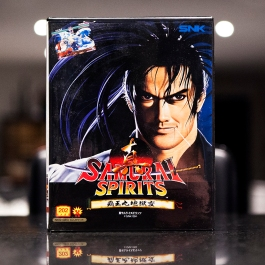 Neo Geo Game - Samurai Spirits something