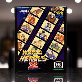 Neo Geo Game - World Heroes 2