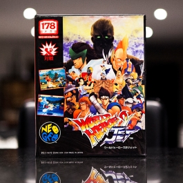 Neo Geo Game - World Heroes Jet 2