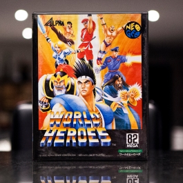 Neo Geo Game - World Heroes