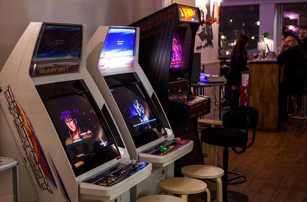 ... Pixel K.A.F.E.   Blast City Arcades ...