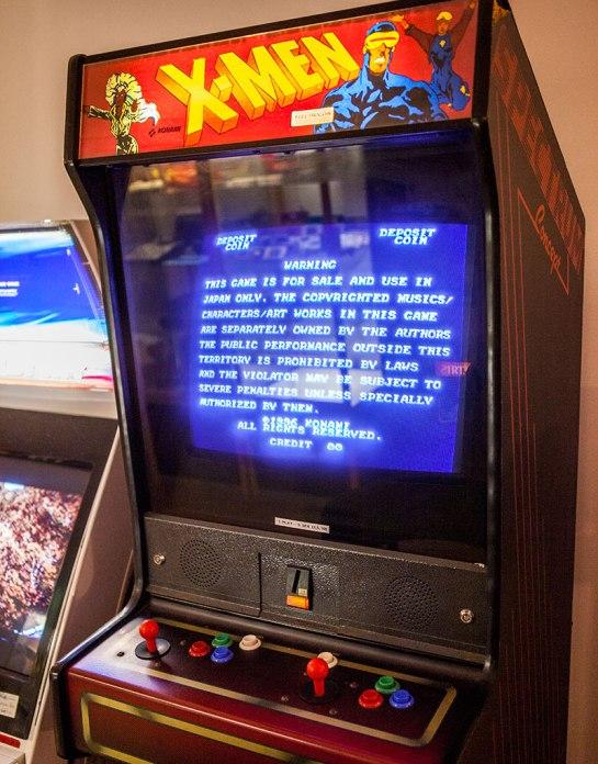 Pixel-K.A.F.E.--Xmen arcade