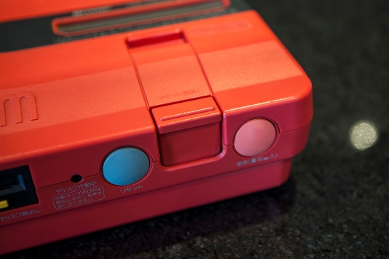 Red Twin Famicom detail