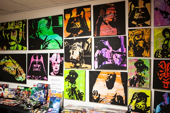 Sci-Fi World Malmö art