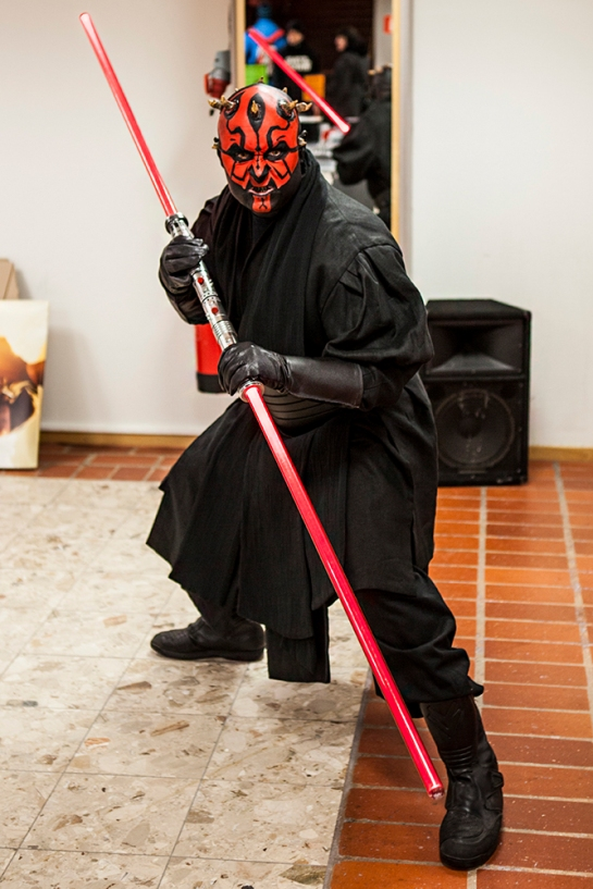 Sci-Fi World Malmö Cosplay Darth Maul