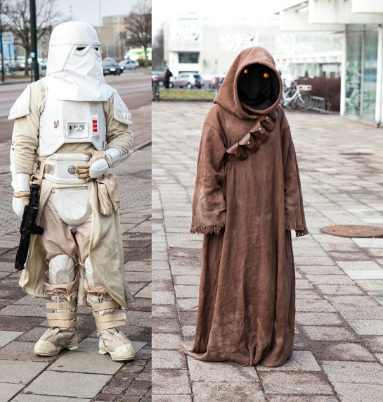 Sci-Fi World Malmö Cosplay  Jawa & Sandtrooper