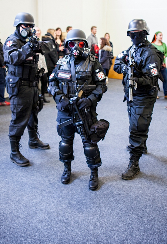Sci-Fi World Malmö cosplay umbrella corp