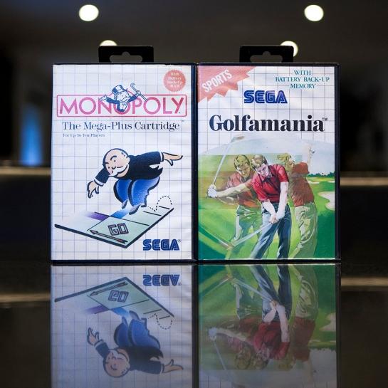 Sega Master System - Monopoly & Golfmania