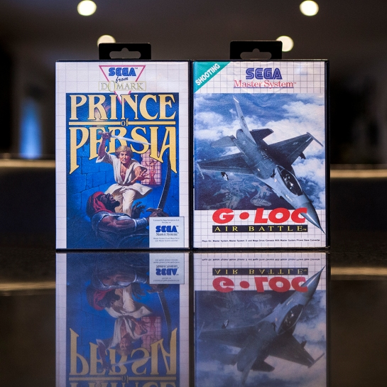Sega Master System - Prince of Persia & G-Loc