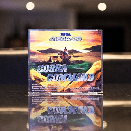 Sega Mega CD Cobra Command