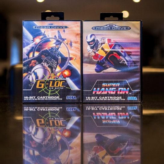 Sega Mega Drive G-Loc & Super Hang-On