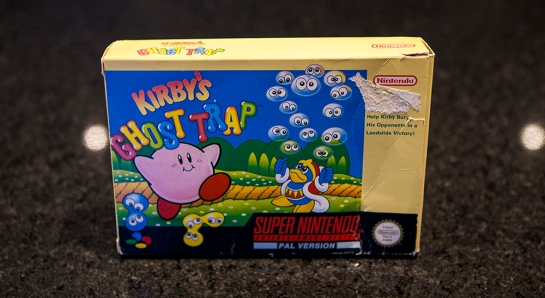 SNES Kirby's Ghost Trap