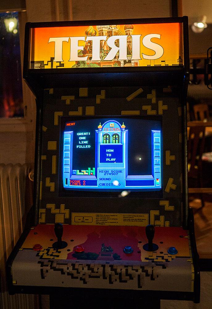 Atari Tetris Arcade from 1988! | Retro Video Gaming