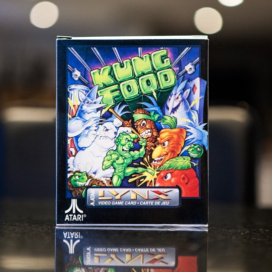 Kung Food - Atari Lynx