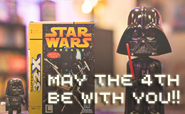 May the 4th be with you – Star Wars retro games