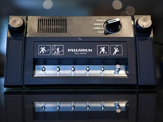 Palladium-Pong-Console