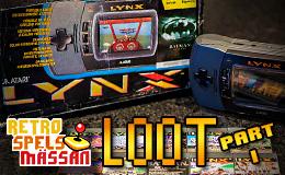 RSM loot part I – AtariLynx!