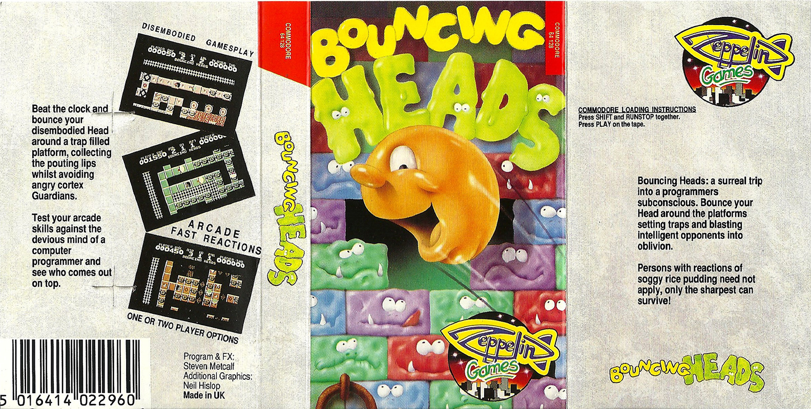 Commodore-C64-Bouncing-Heads | Retro Video Gaming