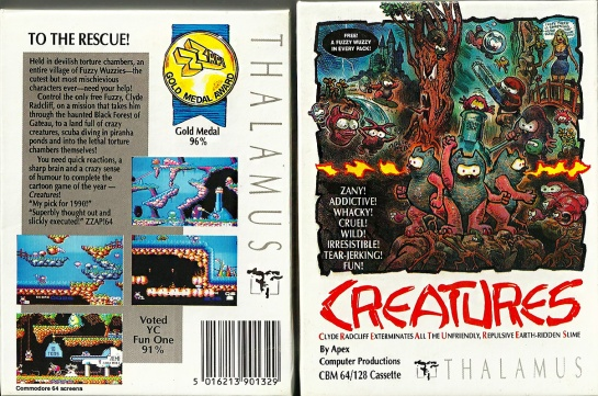 Commodore-C64-Creatures