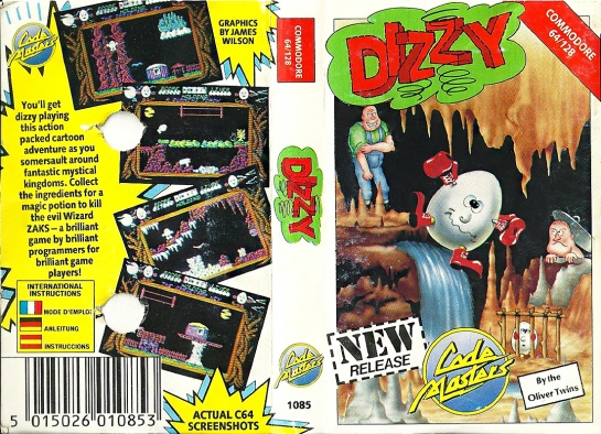 Commodore-C64-Dizzy_