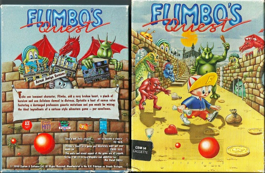 Commodore-C64-Flimbos-Quest