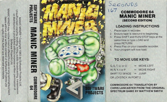 Commodore-C64-Manic-Miner